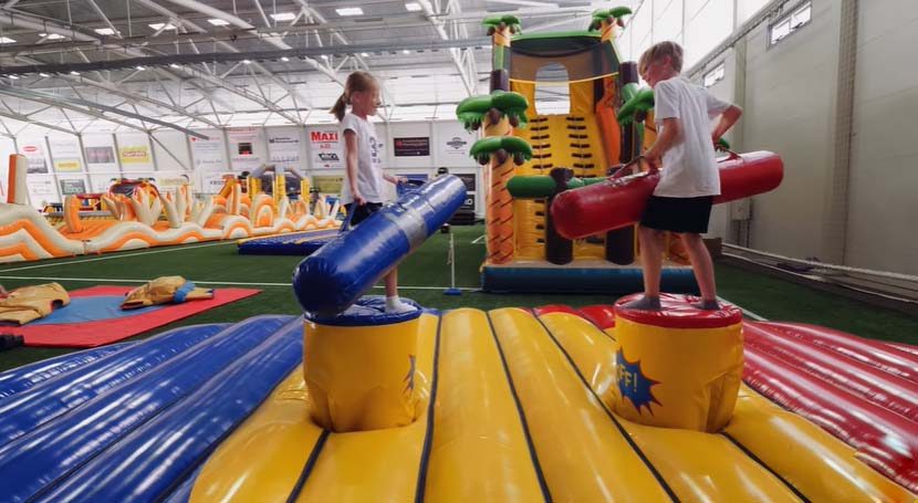 Management experience of an indoor playground